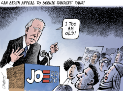 Biden the favorite by Patrick Chappatte