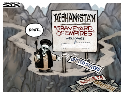 Afghanistan Welcome by Steve Sack