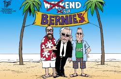 Not feelin' it, Bernie by Bruce Plante