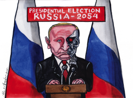 The Eternal Putin by Alla and Chavdar