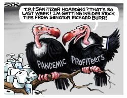 Vulture Capitalists by Steve Sack