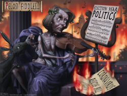 Lighter version Pelosi Nero by Sean Delonas