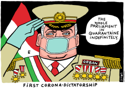 Corona Dictatorship in Hungary by Schot