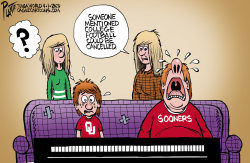 College Football by Bruce Plante