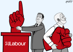 New Labour Leader by Rainer Hachfeld