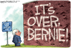 Bernie Out by Rick McKee