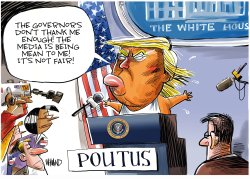 POUTUS daily briefing by Dave Whamond