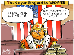 The Whopper King by Dave Whamond