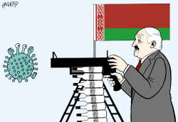 Lukashenko: vodka against corona by Rainer Hachfeld