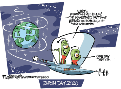 Earth Day by David Fitzsimmons