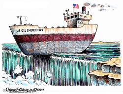 US Oil Industry on brink by Dave Granlund