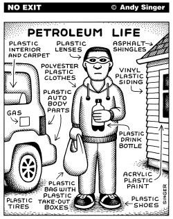 Petroleum Life by Andy Singer