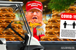 Food Supply Chain Manager Trump by Bart van Leeuwen