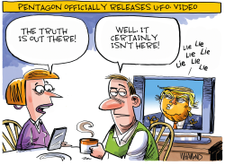 The Truth is out there by Dave Whamond