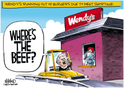 Beef shortage by Dave Whamond