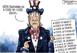 State Openings by Joe Heller