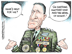 Mike Flynn Future by Dave Granlund