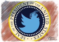 President Tweety by Guy Parsons