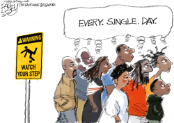 Sign of the times  by Pat Bagley