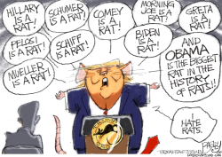 King Rat by Pat Bagley