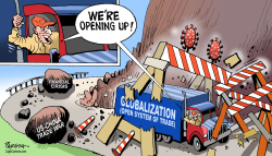 Corona and Globalization by Paresh Nath