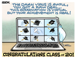 Virtual Commencement by Steve Sack