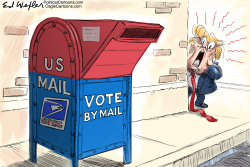 Trump Mail In Voting by Ed Wexler