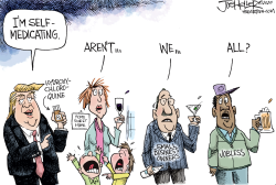 Self Medicating by Joe Heller