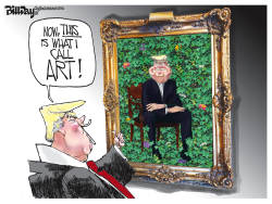 Presidential Portrait by Bill Day