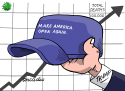 Make America open again. by Arcadio Esquivel