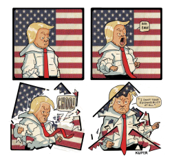 Trump's Sneeze by Peter Kuper