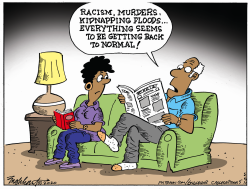 Back To Normal News by Bob Englehart