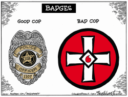 Minneapolis Cops by Bob Englehart
