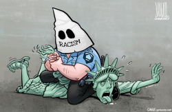Racism kills by Luojie
