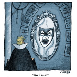Mirror, Mirror by Peter Kuper