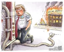 Racial unrest by Adam Zyglis