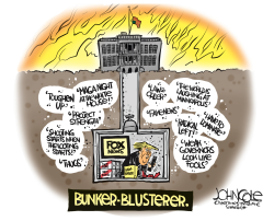 The Bunker-Blusterer by John Cole