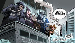 Evil forces of USA by Paresh Nath