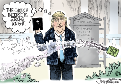 Trump Church by Joe Heller