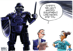Protective gear by Dave Whamond