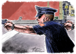 Police Brutality by Guy Parsons