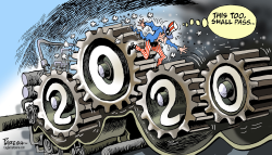US in critical 2020 by Paresh Nath