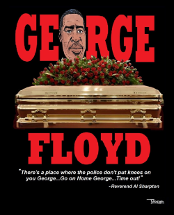 Killing of George Floyd by Tayo Fatunla