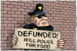 Will Police for Food by Monte Wolverton