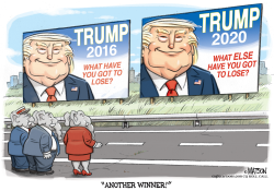 Trump 2020 Campaign Slogan by R.J. Matson