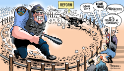 US Police and reform by Paresh Nath