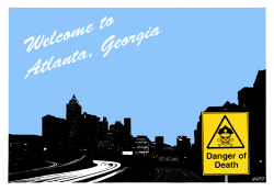 Welcome to Atlanta by Rainer Hachfeld