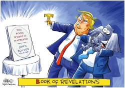 Bolton book of revelations by Dave Whamond