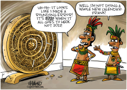 The Mayans had it wrong by Dave Whamond