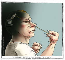 your own brain first by Joep Bertrams
